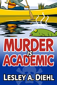 Murder is Academic book cover