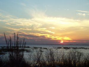 Sunset over Lake Okeechobee